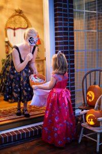Tolle Halloween Kostüme lieben die Kinder